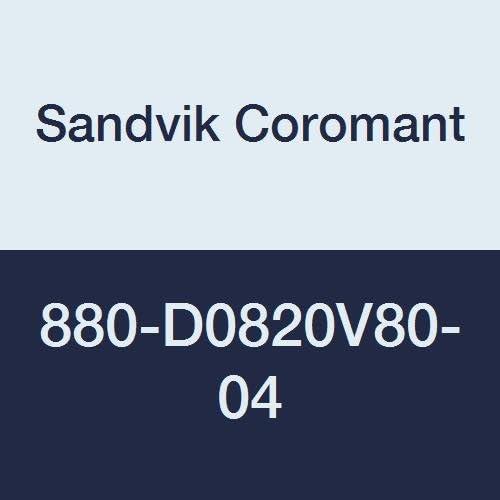 Sandvik Coromant 880-d0820 V80 – 04 Corodrill Corodrill Corodrill 880 Index in grado di inserire trapano | Ottima classificazione  | A Buon Mercato  | Per La Vostra Selezione  | Per tua scelta  | Varietà Grande  | Abbiamo ricevuto lodi dai nostri clienti.  | Prez 25595d