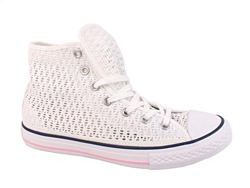 Converse Chuck Taylor Hi Side Zip Canvas mädchen, synthetisch, sneaker high, 33 EU -