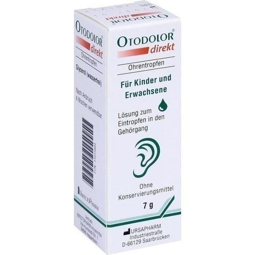 *OTODOLOR direkt Ohrentropfen 7 g*