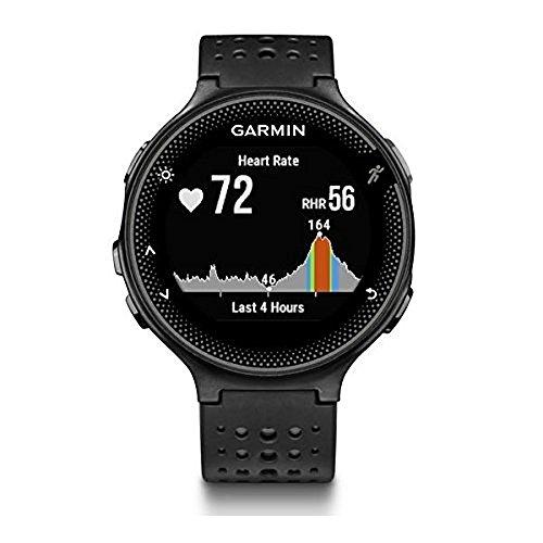 Garmin Forerunner 235 WHR Laufuhr, 24/7 Herzfrequenzmessung am Handgelenk, Smart Notifications, Aktivity Tracker, 1,2 Zoll (3 cm) Farbdisplay, 010-03717-55 - 2