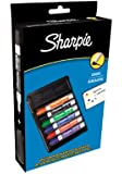 Sharpie Whiteboard Marker Chisel Tip - Assorted Colours (Pack of 6 with Eraser)