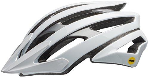 Bell Catalyst MIPS XC MTB Fahrrad Helm weiß/Grau 2019: Größe: M (55-59cm)