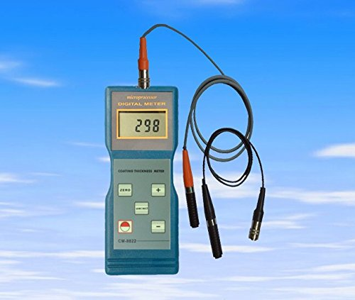 andtek Instrumentos Medidor de espesor de revestimiento de pintura calibre con F y NF sondas