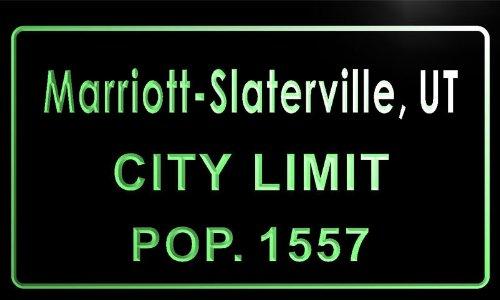 t77916-g-marriott-slaterville-ut-city-limit-pop-1557-indoor-neon-sign