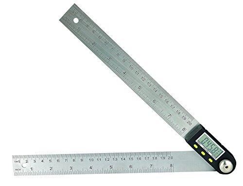 Digitale Winkel Herrscher mit LCD-Display Winkelsucher Winkelmesser Lehre Lineal 200mm 8