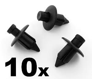 auto trim clips 09409 07308 5pk 09409073085pk trim clips 10 pieces car motorbike. Black Bedroom Furniture Sets. Home Design Ideas