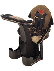 Wee - Ride WeeRide - Silla de bicicletas para niños infantil, tamaño Aged 1 - 4, color negro / beige trim