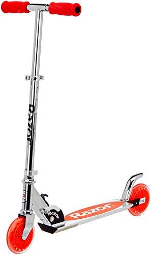 Razor A125 Scooter monopattino a spinta per bambini di colore rosso