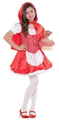 Rotkäppchen Kostüm Kinder Gr. 134
