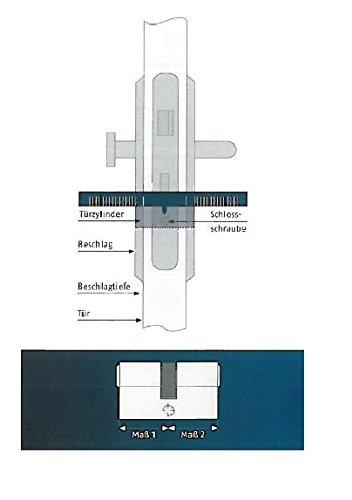 ABUS Profil-Zylinder C73N 30/45, 04984 - 4