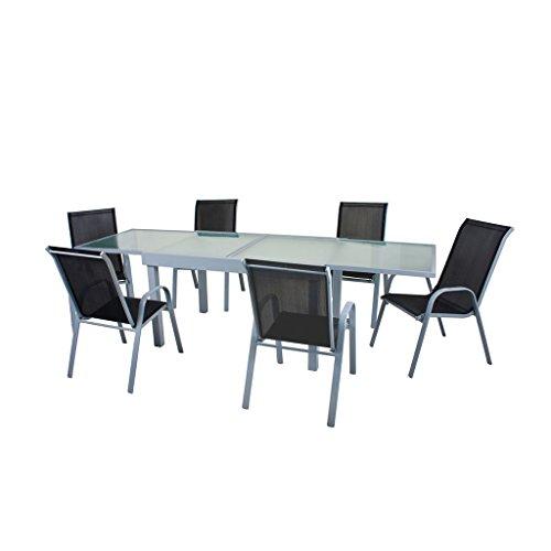 Gravidus 7-teilige Tischgruppe