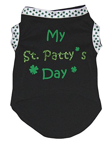 eidung Hund Kleid My ST Patty 's Day Weiß Baumwolle T-Shirt (St Pattys Shirts)