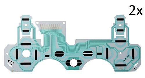 2x - PS3 Controller Flex Platine Tastenfolie Leiterbahn für DualShock 3 SA1Q160A (2x Ps3 Controller)