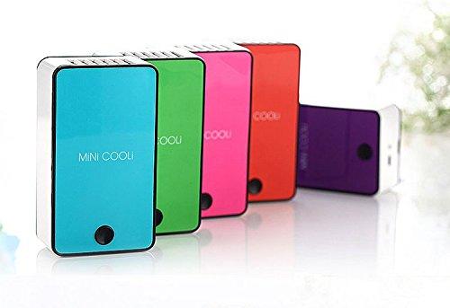 Mini Hand Handliche USB- Cool Luefter Klimaanlage Tragbare Luefterelektrische Lüfter mit ABS-Kunststoff Kuehlung Klimaanlage (orange) - 4