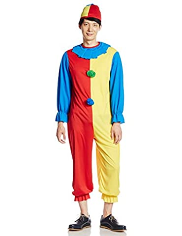 Rubie's Official Clown Fancy Dress - Standard Size