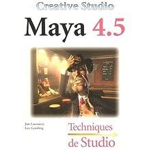 Creative Studio Maya 4.5