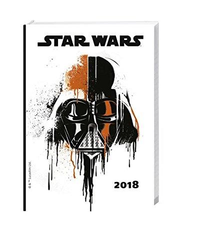 Star Wars 17-Monats-Kalenderbuch A6 - Kalender 2018: 17 Monate. Von August 2017 bis Dezember 2018.