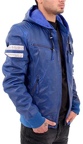 Aviatrix Herren Collegejacke Jacke Blau
