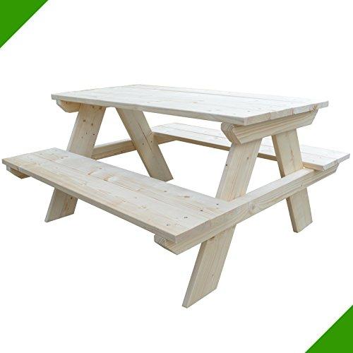Froeschl Autozubehoer Picknicktisch Kindertisch Kindersitzgruppe Kindersitz Garnitur Tisch
