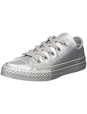 Converse CTAS Ox Metallic Synth Leather - Zapatilla Baja Unisex Niños