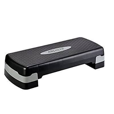 AMDirect Mini Stepper für Home Gym Step Übung mit Widerstand