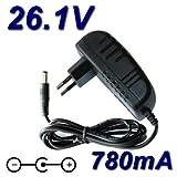 TOP CHARGEUR * Adaptateur Alimentation Chargeur 26.1V 780mA pour Aspirateur Balai...