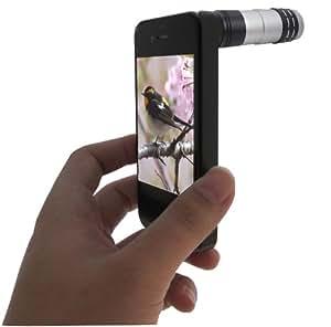 Akashi 730477 Telephoto Lens 9x for iPhone 5: Amazon co uk