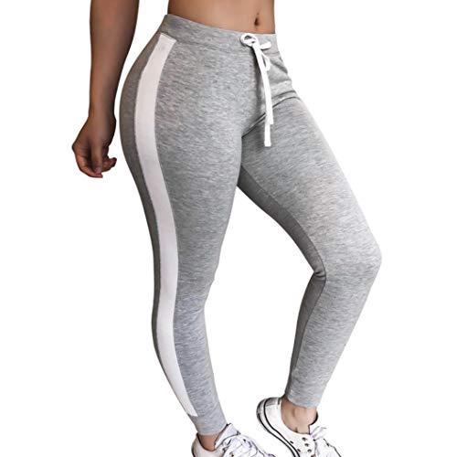 Luckycat Neuer Damen Sport Leggings Patch Mesh Stretch Yogahose Sporthose Training Jogging Tights Mode 2018 -