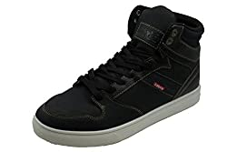 Levis Brentwood Casual Fashion Sneakers (Black/Indigo) 9 D(M) US