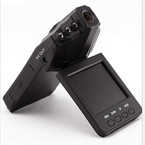 Driving Recorder 1080P Auto DVR Armaturenbrett Kamera 270-Grad-Drehung Full HD-Kamera mit Aufnahme WDR Advanced Night Model 6 Night Vision Lights -