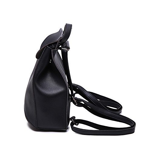 Meoaeo Student Fashion Casual Bag Nera