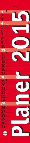 Planer mini-long, rot 2015 (Mini 2015-planer)