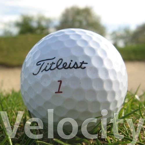 Easy Lakeballs 50 TITLEIST Velocity BALLES DE Golf...