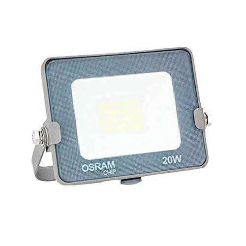 COUSON Foco Proyector LED 20W Exterior OSRAM Chips Luz Neutra 4000K IP65...