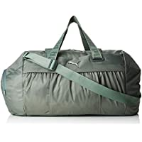 Puma AT Sports Duffle Bag, Mujer, Laurel Wreath/Gunmetal, OSFA