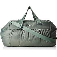 Puma AT Sports Duffle Bag, Mujer, Laurel Wreath/Gunmetal, OSFA