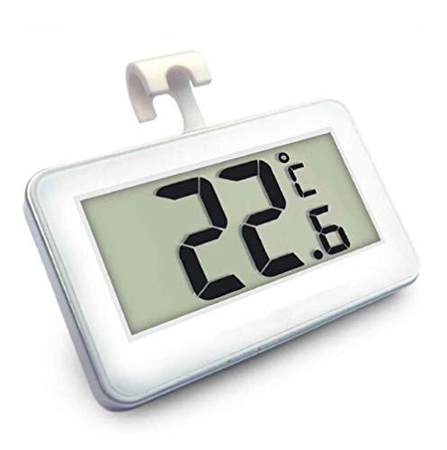 Eidyer Termometri per Frigoriferi Digitale Termometro da Frigo Termometro digitale del frigorifero, Suplong con l'esposizione LCD di facile leggere, congelatore del supermercato con il magnet