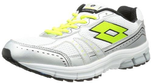 lotto-sport-zenith-ii-chaussures-de-running-femme-blanc-weiss-white-lime-fluo-42-eu