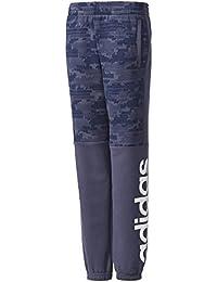 adidas Linear Tee-shirt pour garçon. M Trace Blue/Collegiate Navy/White