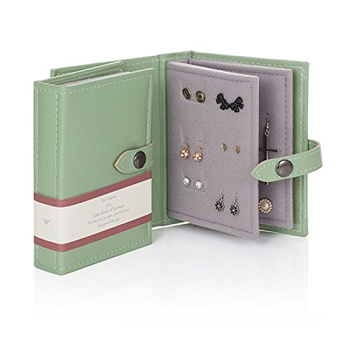 Little Little Book of Earrings - Small Size - GREEN