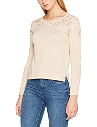 Only Onlmaia L/S Lace Pullover Knt, Suéter para Mujer