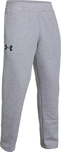 Under Armour UA Rival Cotton Pantalon de fitness et short pour homme Gris - Trg/Blk