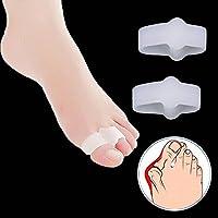 2x Silikon Soft-Gel Zehenspreizer, Zehentrenner für Hallux Valgus Therapie, Vorbeugung von Schmerzen und Entspannung... preisvergleich bei billige-tabletten.eu