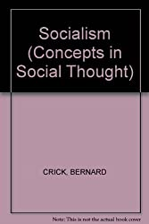 Socialism (Concepts in Social Thought)