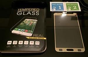 ikazen premium golden Tempered Glass Screen Protector for samsung S5 - Gold