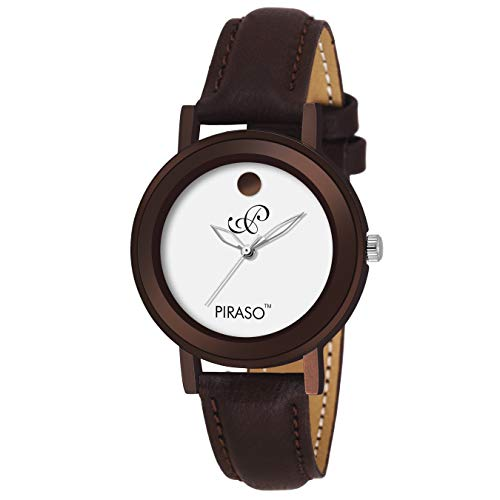 Piraso Analog Brownish Watch for- Women