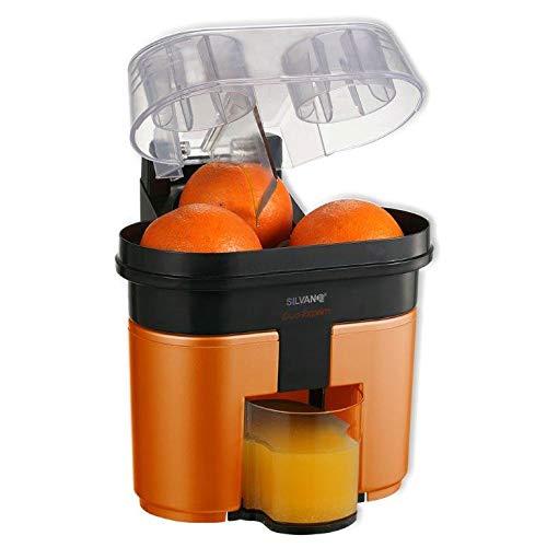 Presse-agrumes Electrique Citro-Twin double • Presse Orange Agrume • Appareil Robot Centrifugeuse (Rouge)