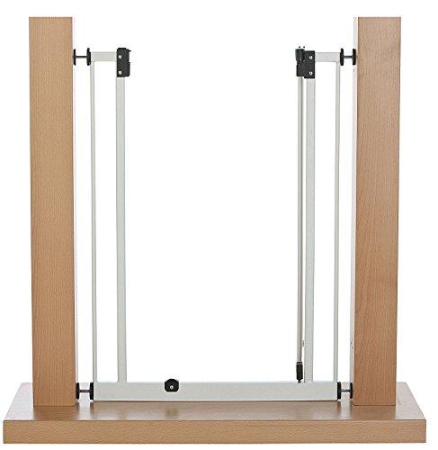 Impag Extrahoch 107 cm Tür- und Treppenschutzgitter 73 – 142 cm selbstschließend, ideal für große Menschen – zum Klemmen – ohne Bohren Easystep + 20 - 3