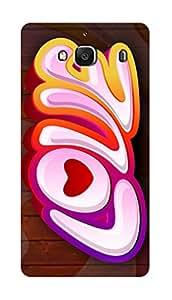 SWAG my CASE PRINTED BACK COVER FOR XIAOMI REDMI 2 PRIME Multicolor