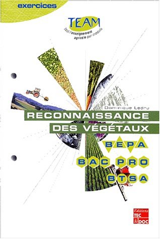 Reconnaissance des végétaux BEPA/Bac pro/BTSA